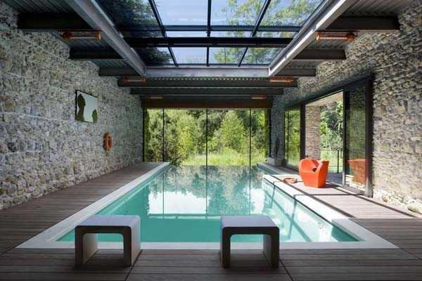 Tarif construction piscine couverte jardin piscine et cabane for Construction piscine couverte
