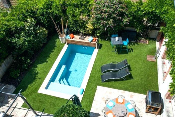 Piscine petit jardin construction jardin piscine et cabane - Piscine pour petit jardin ...