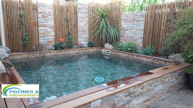 Piscine jardin eau trouble jardin piscine et cabane - Comment recuperer eau trouble piscine ...