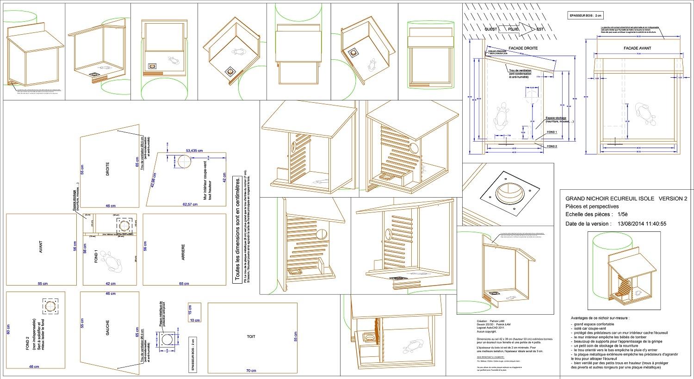 Cabane oiseaux plan jardin piscine et cabane - Plan maison en bois gratuit ...