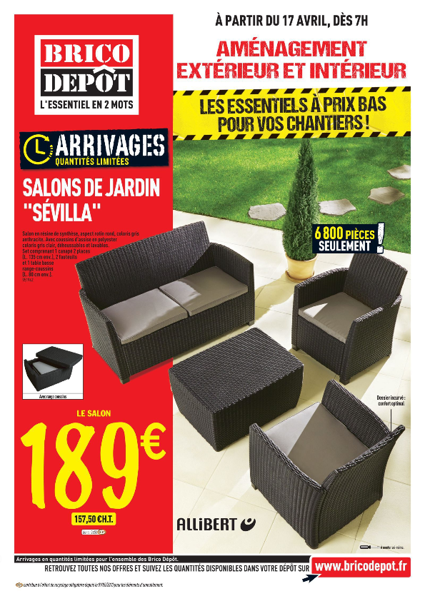 Chaise De Jardin Allibert. Top Coussins Pour Keter Allibert ...