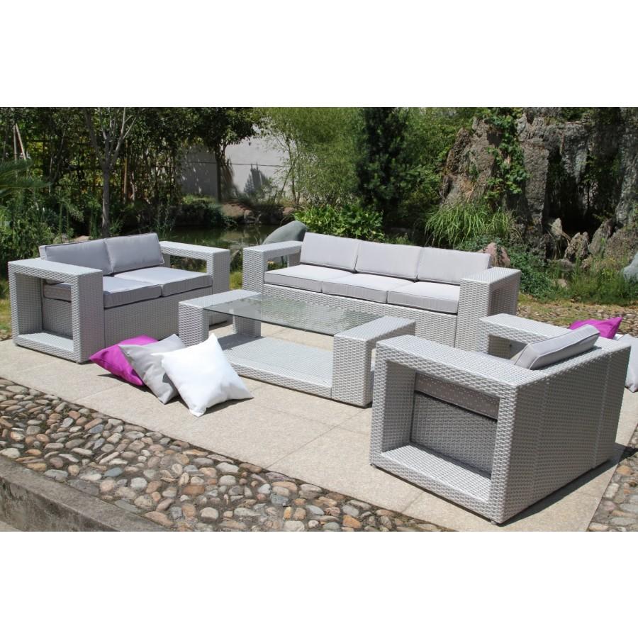 Salon de jardin mr bricolage bois - Jardin piscine et Cabane