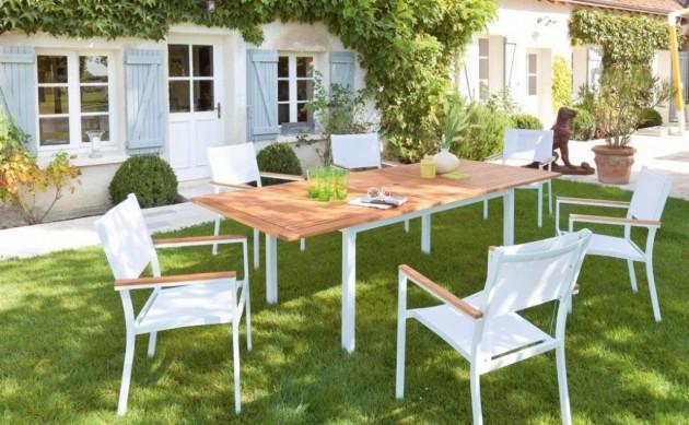 salon de jardin jardin piscine et cabane. Black Bedroom Furniture Sets. Home Design Ideas