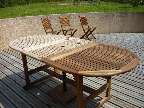 Restaurer salon de jardin pvc - Jardin piscine et Cabane