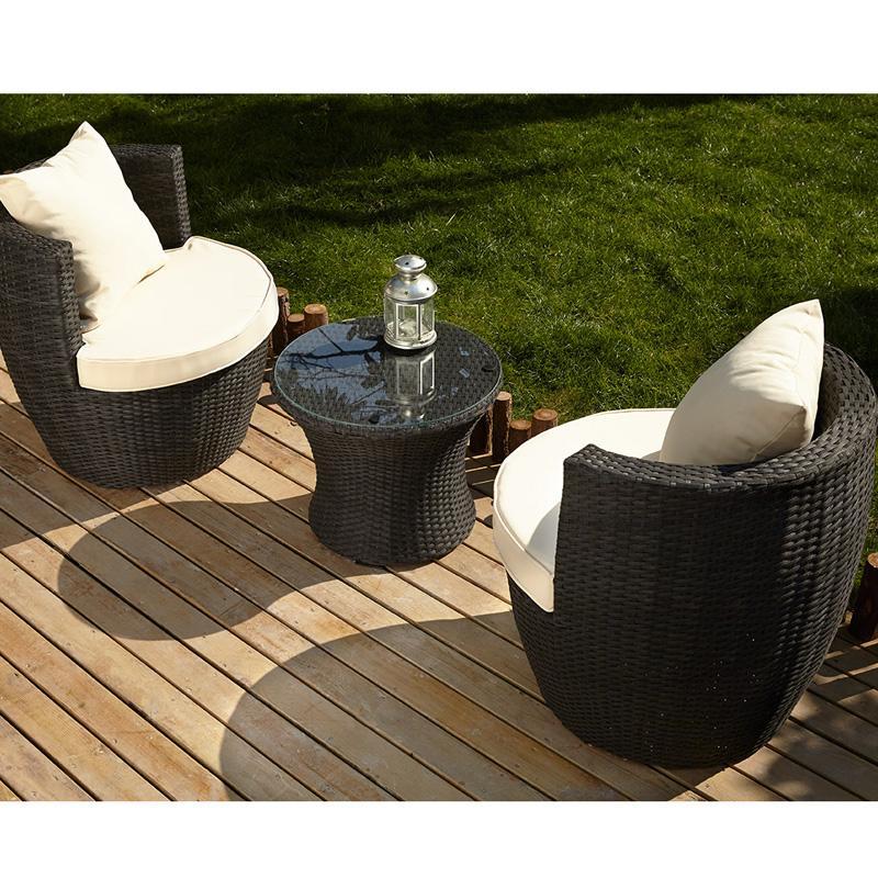Petit salon jardin - Jardin piscine et Cabane