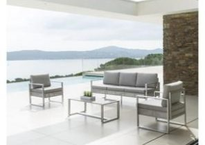 Salon de jardin blanc cdiscount - Jardin piscine et Cabane