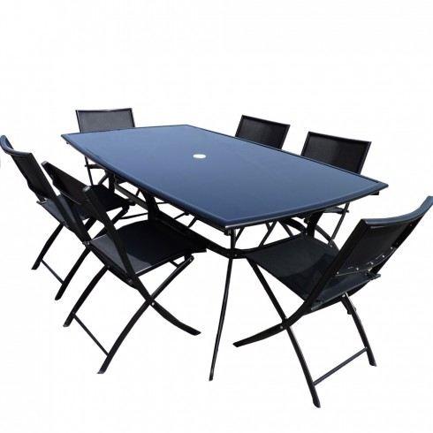 ensemble table et chaise jardin pas cher jardin piscine. Black Bedroom Furniture Sets. Home Design Ideas