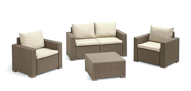 salon de jardin allibert mod le corona jardin piscine. Black Bedroom Furniture Sets. Home Design Ideas