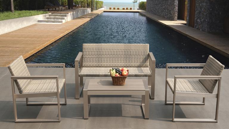 Mobilier de jardin table basse