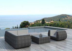 Stunning Salon De Jardin Barbados Gris Photos - House Design ...