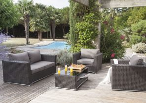 Salon de jardin leclerc romorantin - Jardin piscine et Cabane