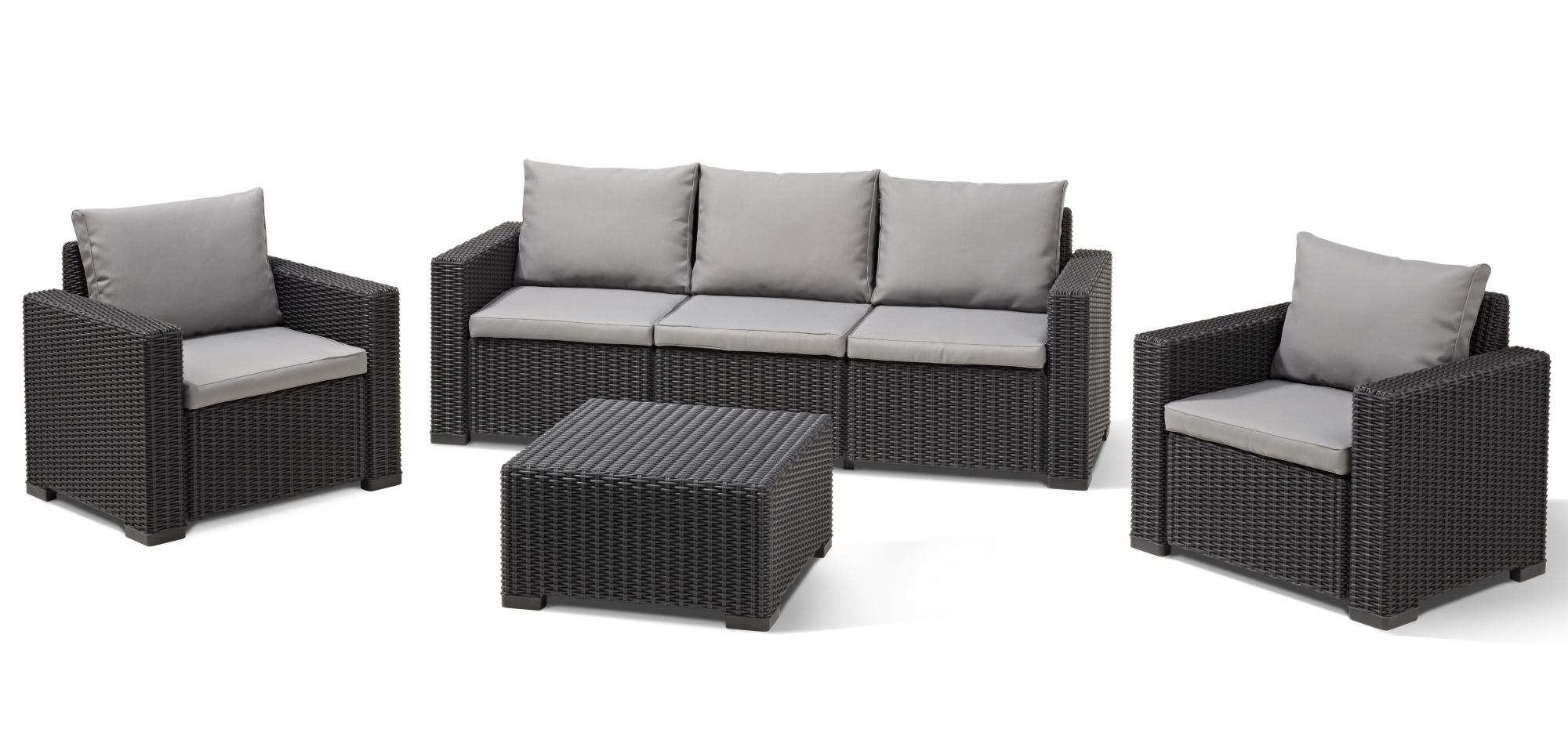 salon de jardin allibert california brico depot jardin. Black Bedroom Furniture Sets. Home Design Ideas