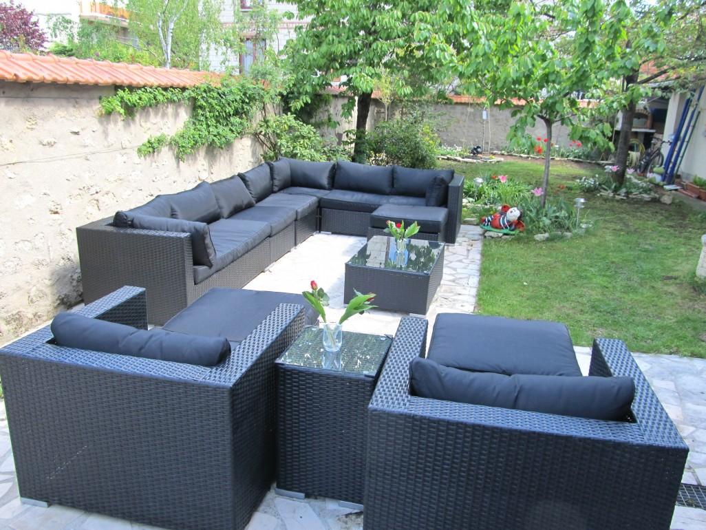 Salon de jardin 5 places castorama jardin piscine et cabane - Salon de jardin en solde castorama ...