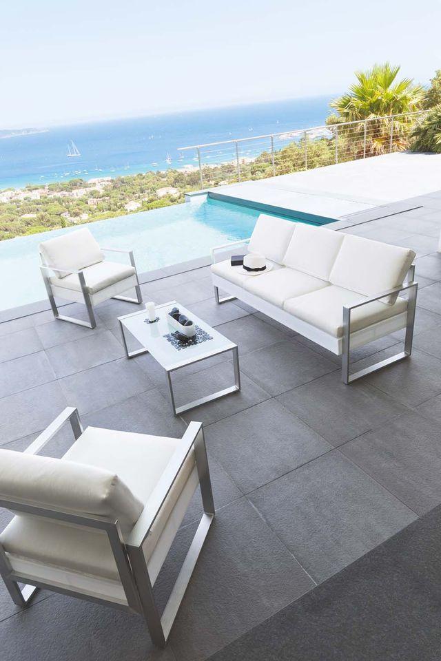 Salon de jardin hesperide moins cher - Jardin piscine et Cabane