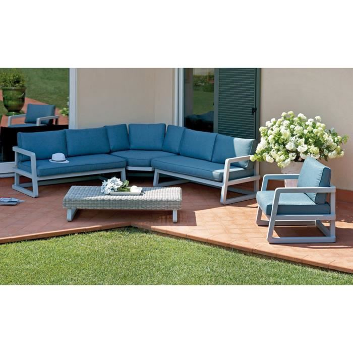 Canapé salon de jardin