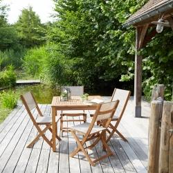 Entretien salon de jardin bois acacia - Jardin piscine et Cabane