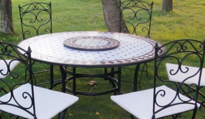 Best Table Jardin Mosaique Belgique Ideas - House Design ...