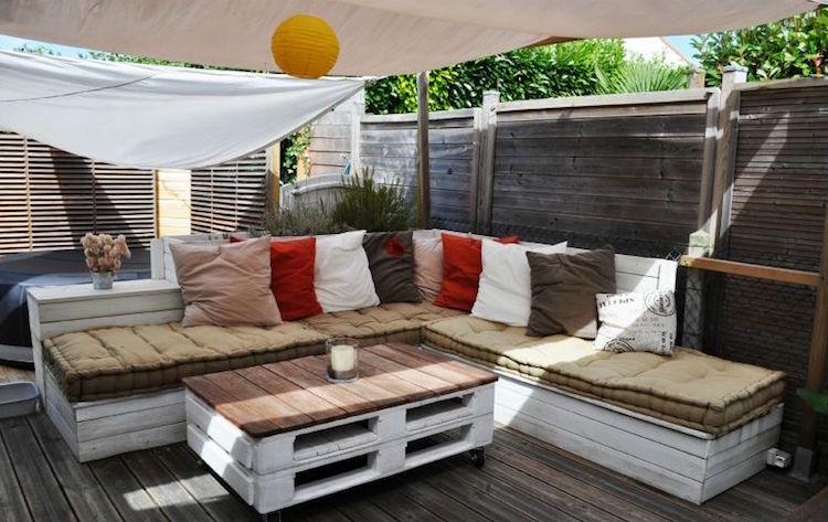Idee amenagement salon de jardin - Jardin piscine et Cabane