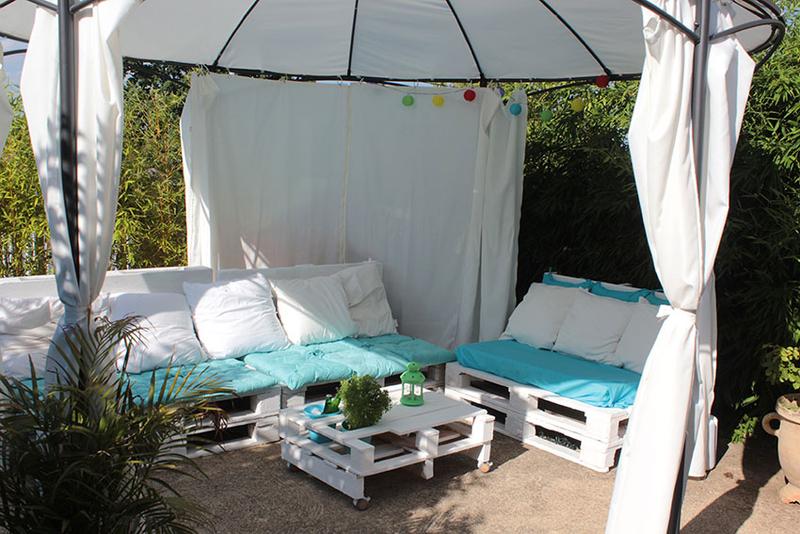 ou trouver des coussins pour salon de jardin en palette. Black Bedroom Furniture Sets. Home Design Ideas