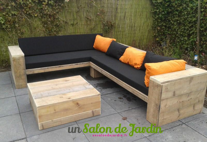 Best Comment Faire Un Salon De Jardin Avec Des Palettes Galerie ...