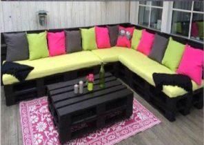 Amazing Salon De Jardin Avec Coussin Vert Idees - Photos et idées ...