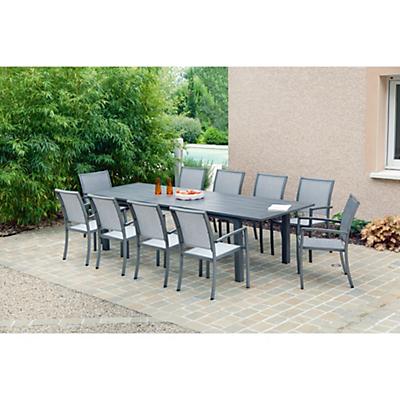 table salon de jardin alinea jardin piscine et cabane. Black Bedroom Furniture Sets. Home Design Ideas