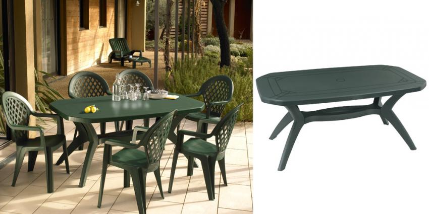 salon de jardin grosfillex ibiza taupe jardin piscine et. Black Bedroom Furniture Sets. Home Design Ideas