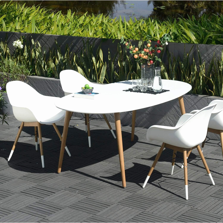 Table salon de jardin aluminium leroy merlin