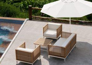 Salon de jardin metal alinea - Jardin piscine et Cabane
