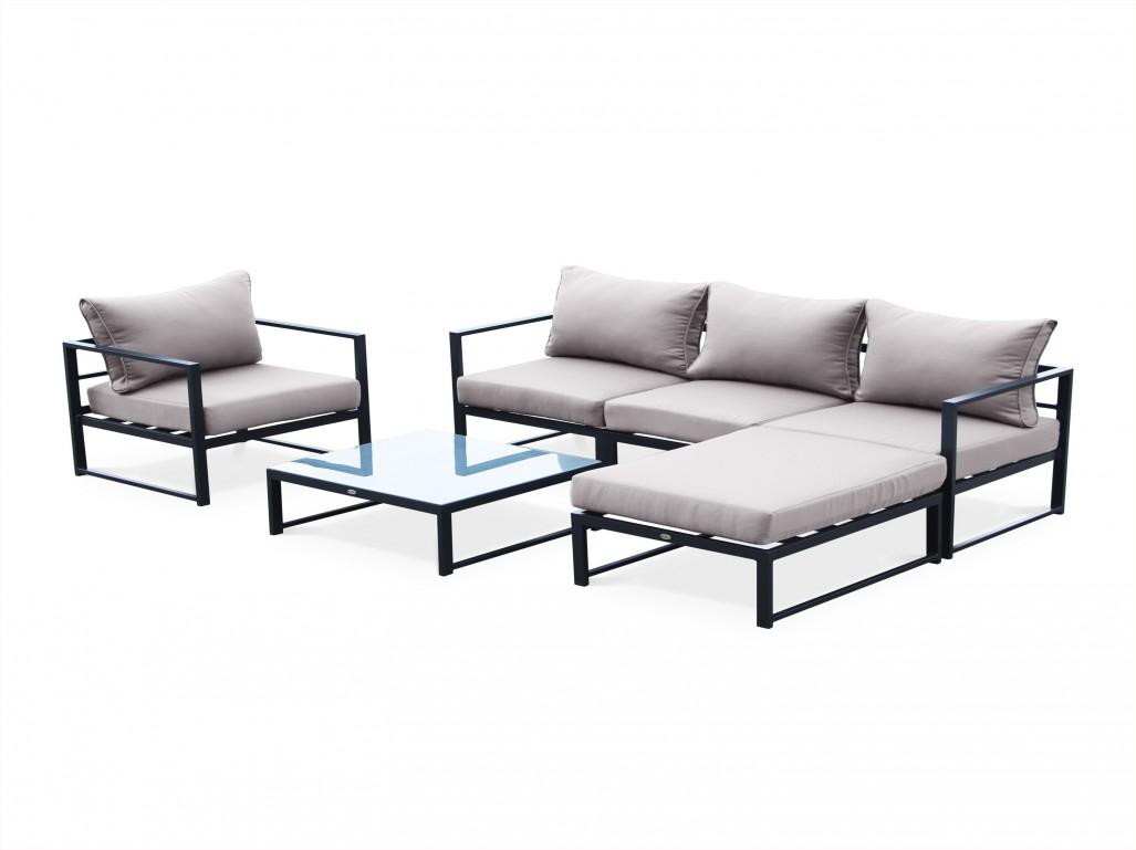 Salon de jardin aluminium discount - Jardin piscine et Cabane