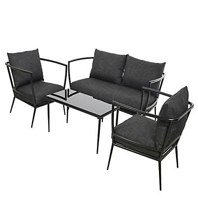 salon de jardin samoa alin a jardin piscine et cabane. Black Bedroom Furniture Sets. Home Design Ideas