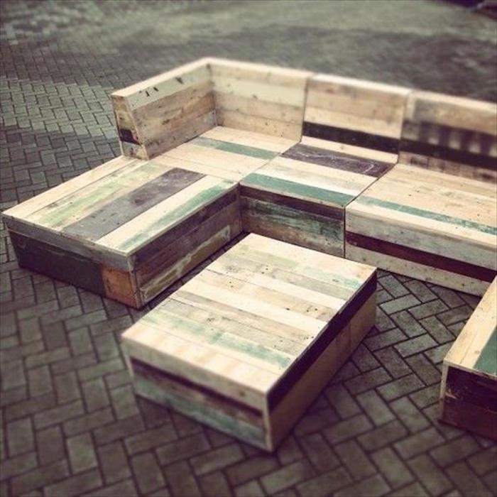 salon de jardin en palette moderne jardin piscine et cabane. Black Bedroom Furniture Sets. Home Design Ideas