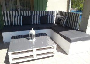 Table de salon de jardin kettler - Jardin piscine et Cabane