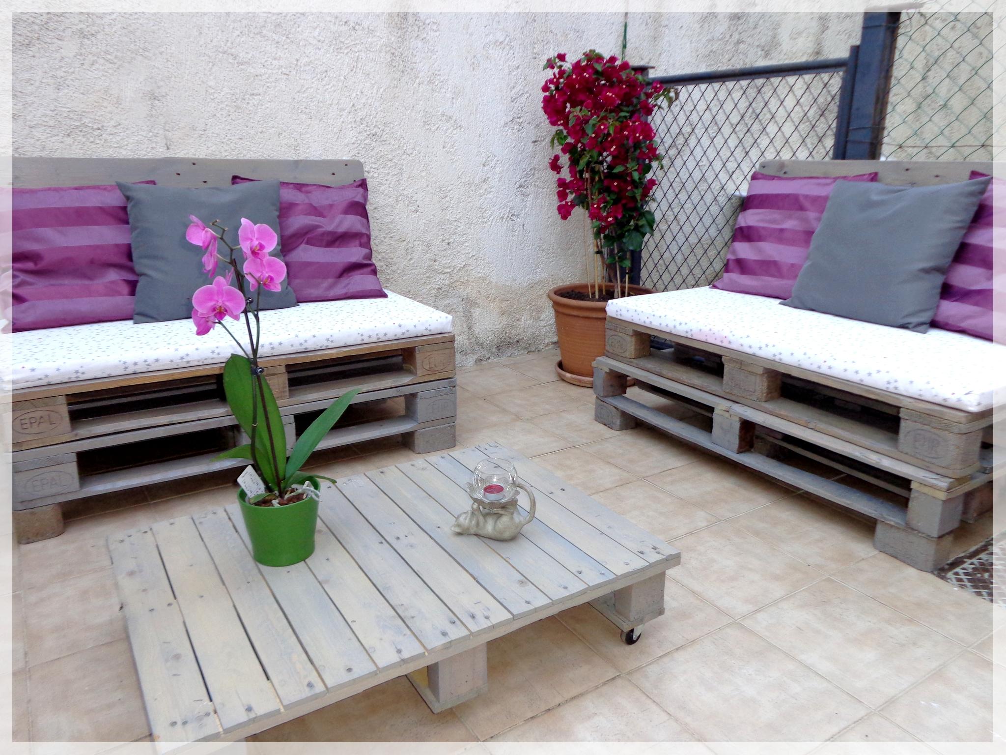 Plan salon de jardin palette europe - Jardin piscine et Cabane