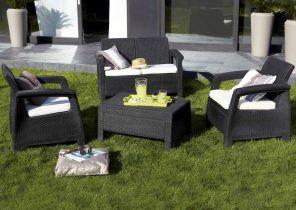 Solde salon de jardin chez carrefour - Jardin piscine et Cabane