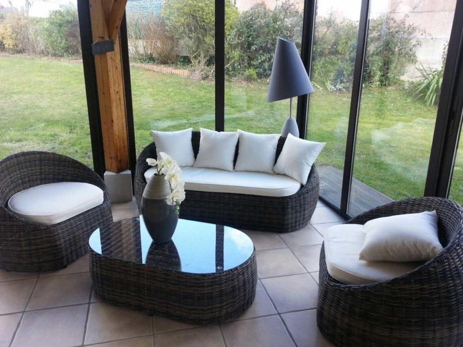 Salon de jardin pour balcon conforama - Jardin piscine et Cabane