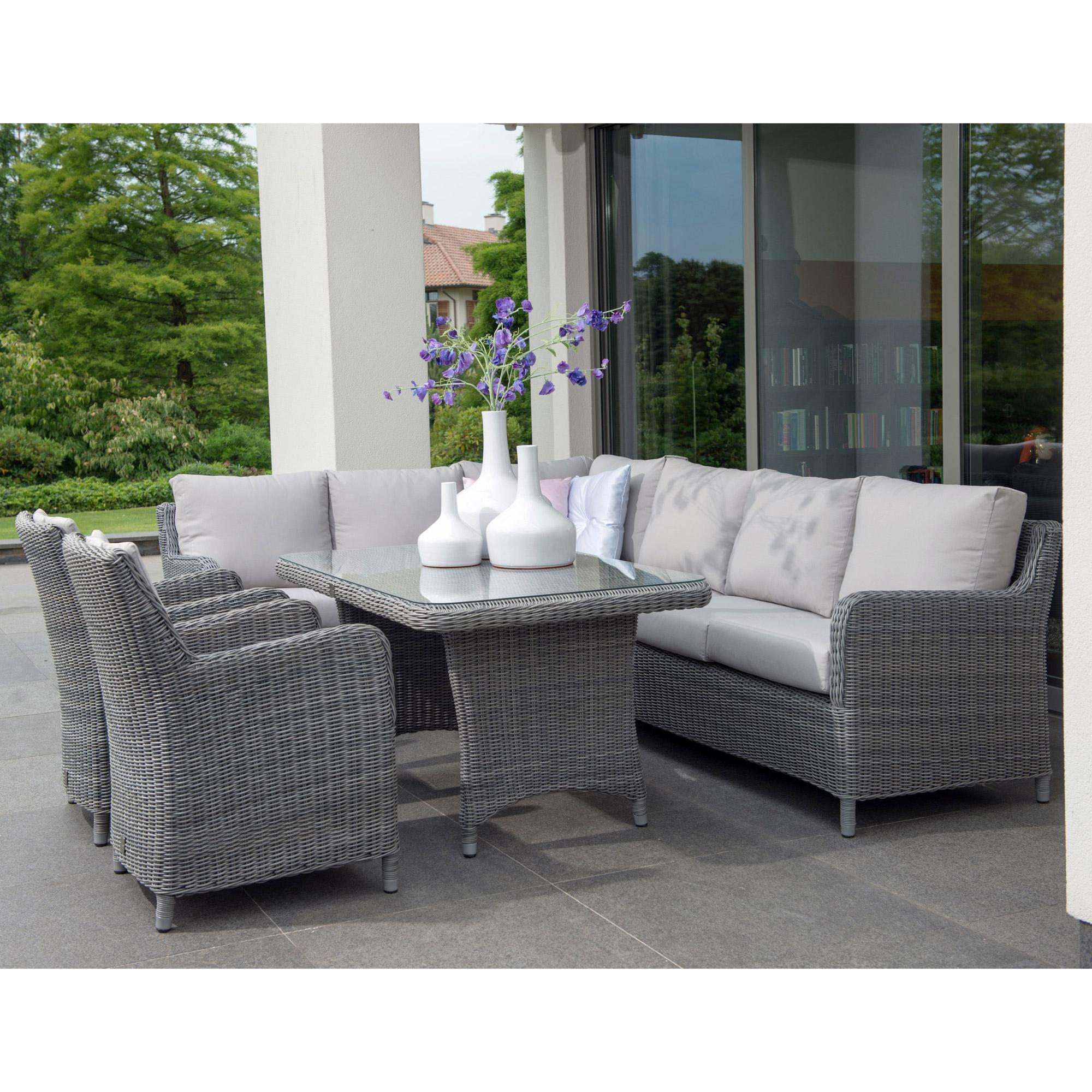 Salon de jardin avec fauteuils - Jardin piscine et Cabane