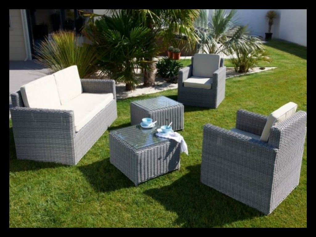 promo salon de jardin r sine tress e carrefour jardin piscine et cabane. Black Bedroom Furniture Sets. Home Design Ideas