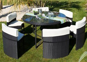 Salon de jardin en resine encastrable leclerc - Jardin piscine et Cabane