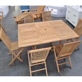 Table bois exterieur pas cher