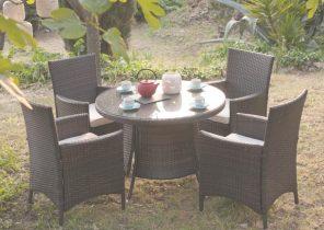 Salon de jardin résine tressée table ovale - Jardin piscine et Cabane