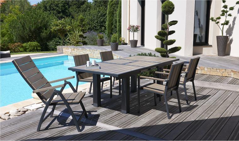 Salon de jardin jardiland poitiers - Jardin piscine et Cabane