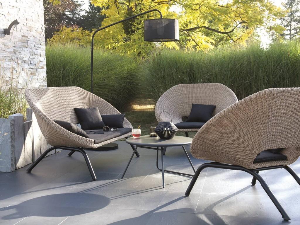 Salon de jardin la redoute - Jardin piscine et Cabane