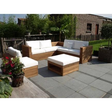 Salon de jardin bois design - Jardin piscine et Cabane
