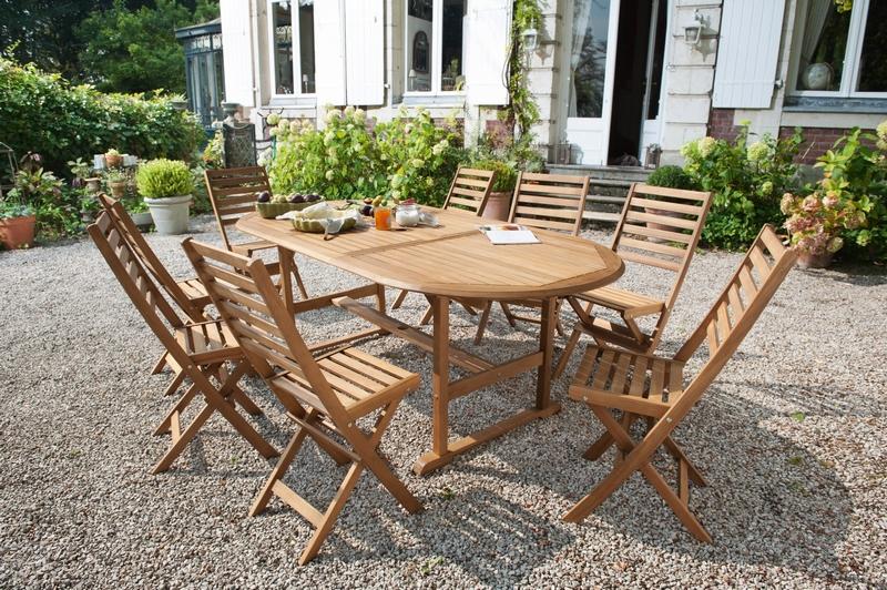 Salon De Jardin En Teck Massif. Best Meilleur Salon De Jardin En ...