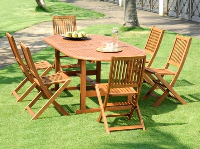 Awesome Table De Jardin En Teck Leclerc Images - House Design ...
