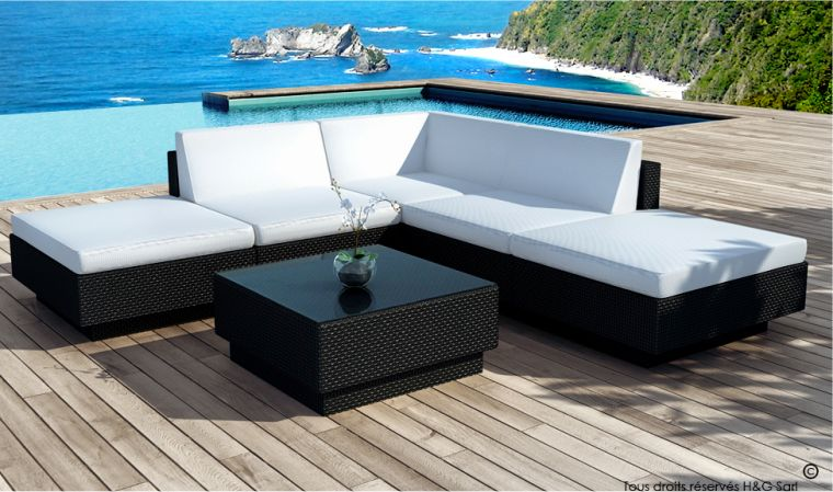Solde salon de jardin resine - Jardin piscine et Cabane