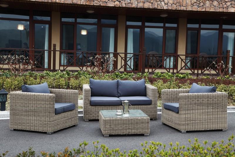 Salon jardin résine tressée - Jardin piscine et Cabane