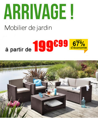 cdiscount destockage salon de jardin jardin piscine et. Black Bedroom Furniture Sets. Home Design Ideas