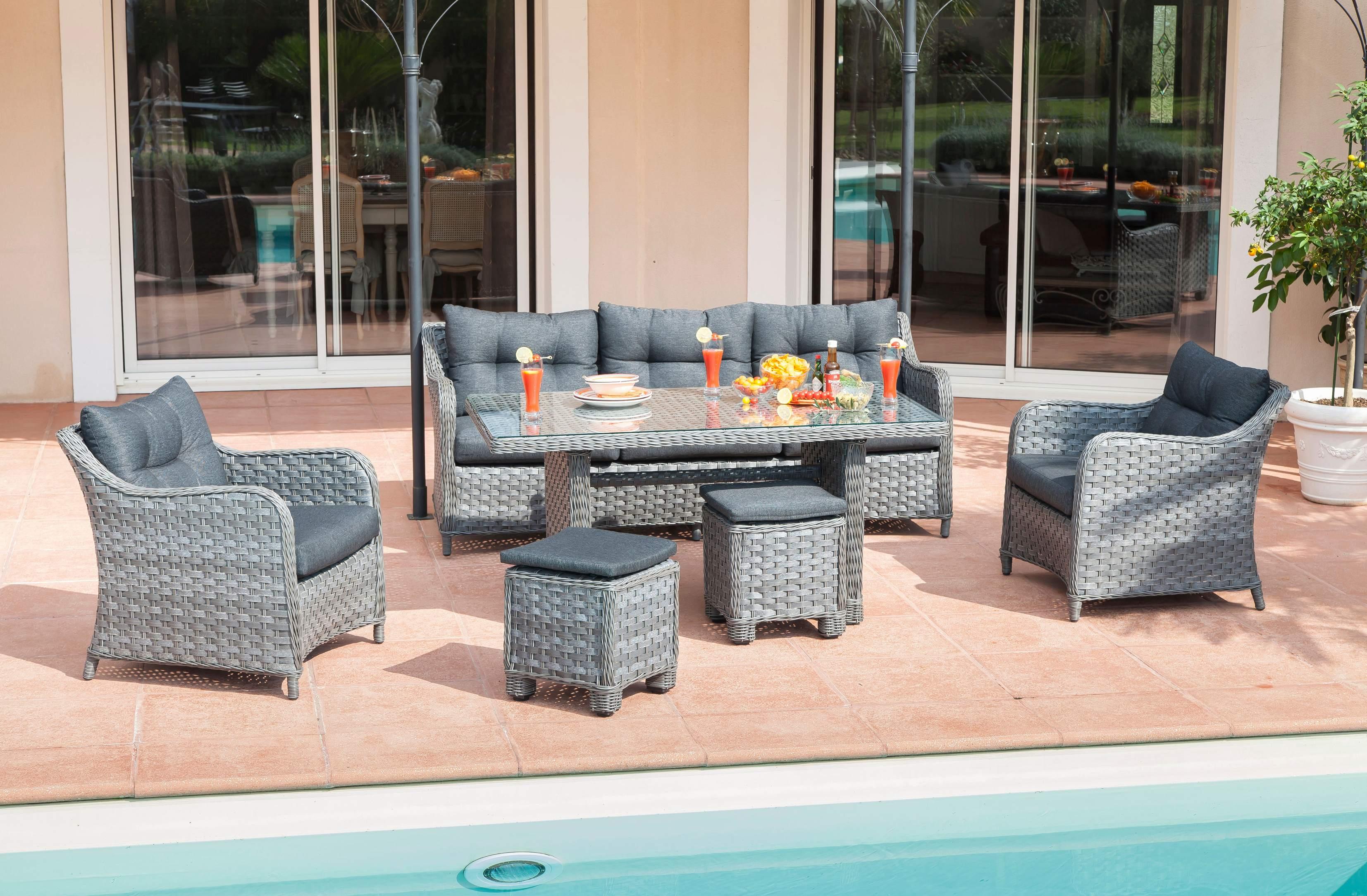 salon de jardin monte jardiland jardin piscine et cabane. Black Bedroom Furniture Sets. Home Design Ideas